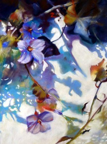Shadows on the Wall by Sue Gardner 2014 soft pastel Unison and Schmincke