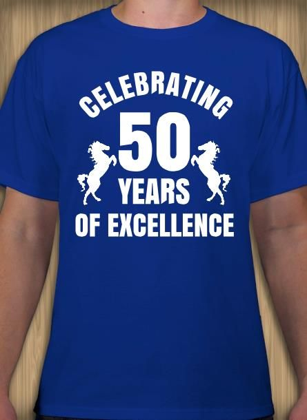 50th Birthday T Shirt Design Idea And Template Make Your Custom Tee Online