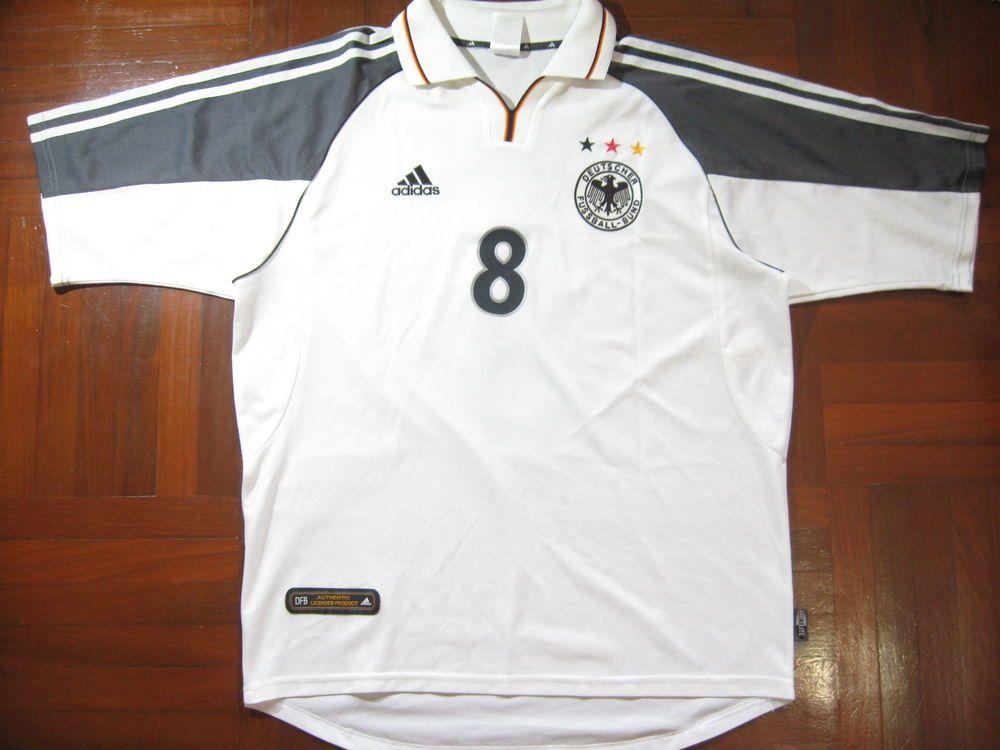 1491f65a8 HASSLER GERMANY EURO 2000 ADIDAS FOOTBALL SHIRT SOCCER JERSEY VINTAGE  TRIKOT L (eBay Link)