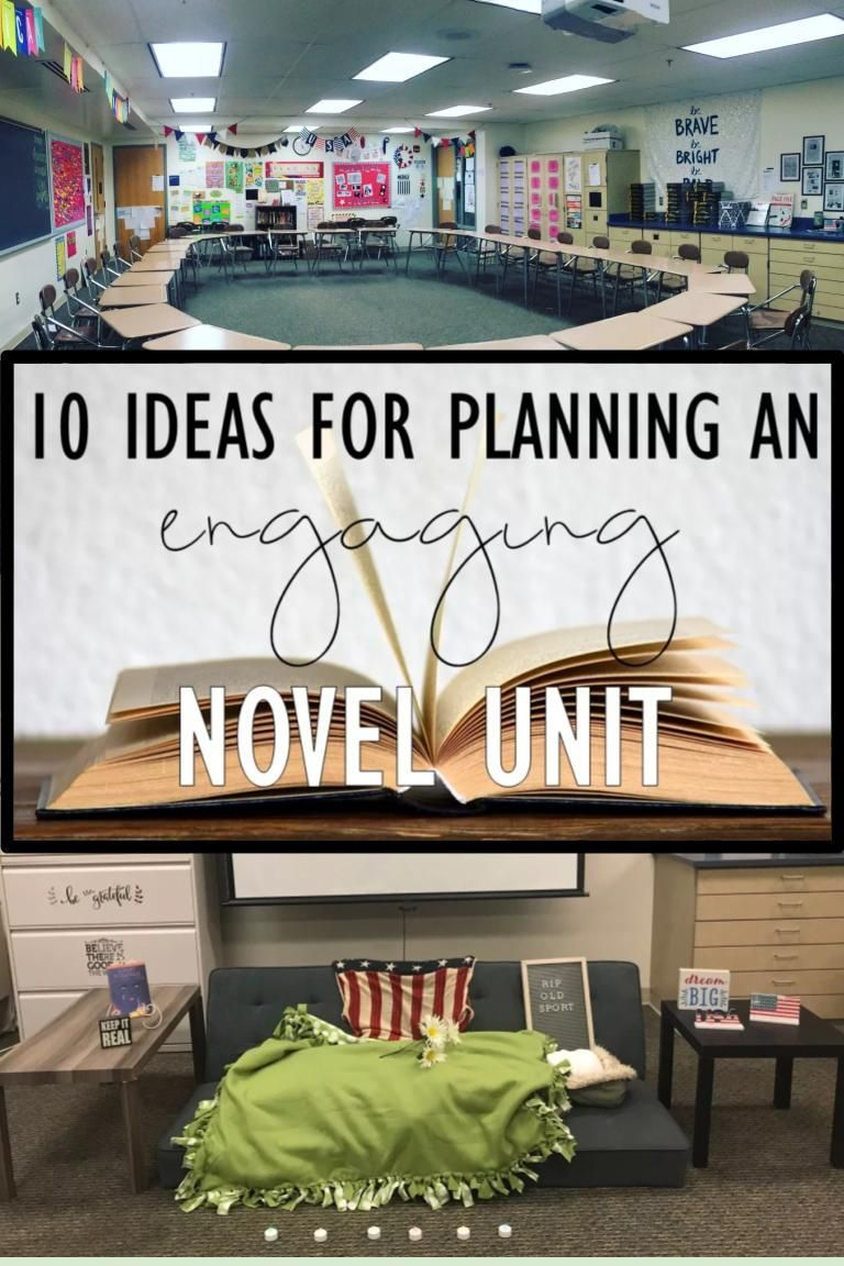 10 Ideas for Planning Engaging Novel Units #powerpoint