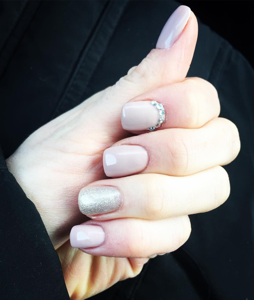 nice 30 Sparkly Ideas for Diamond Nails - A Girl\'s Best Friend Check ...