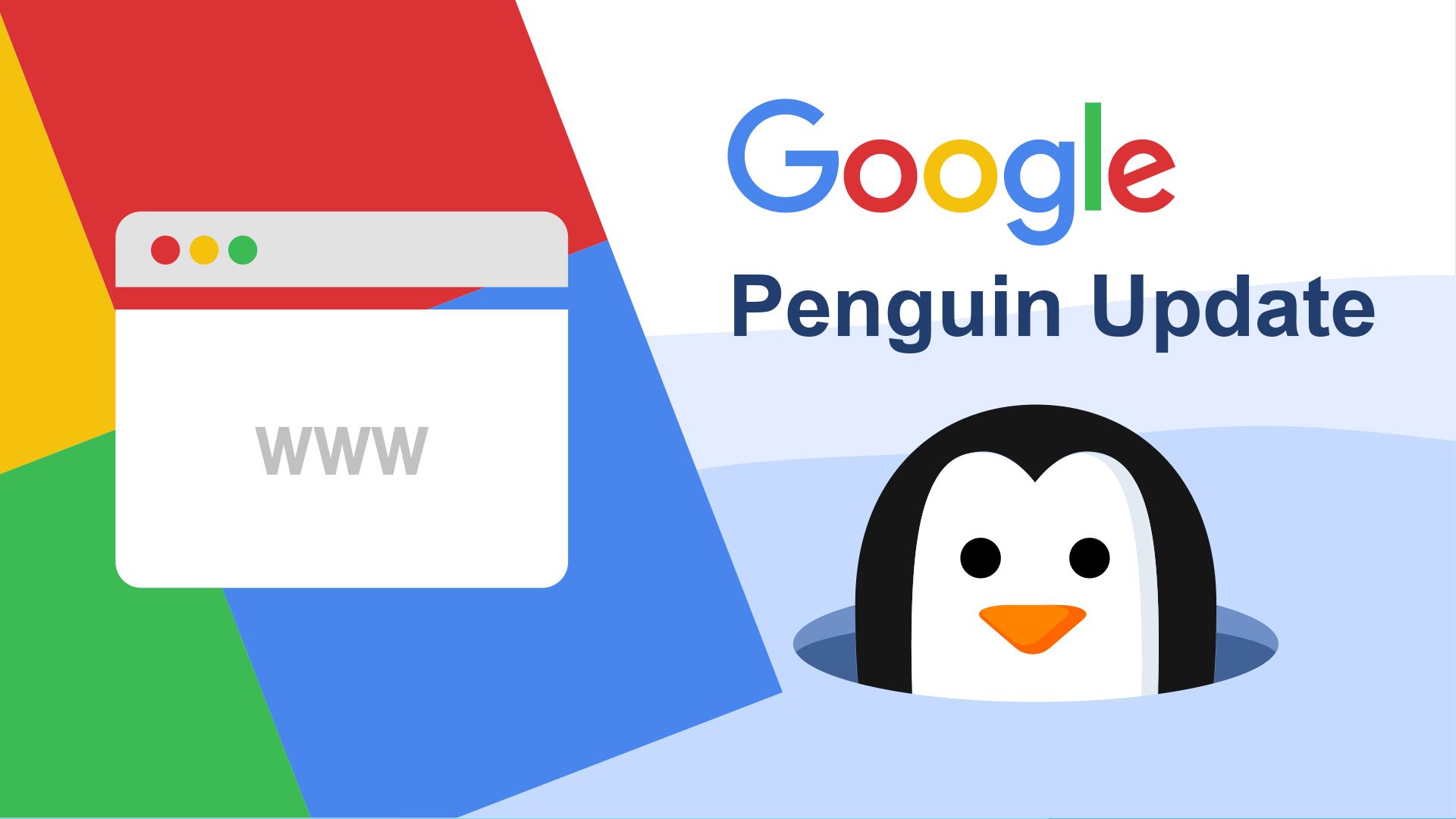 Google Penguin onderzoekt de kwaliteit van de links tussen websites. Het maakt onderdeel uit van het Google algoritme waarmee websites beoordeelt worden en heeft dus invloed op je ranking-positie in de zoekresultaten.