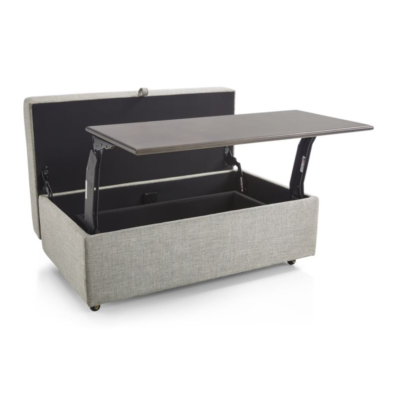 Wondrous Barrett Storage Ottoman With Tray And Casters In 2019 Gmtry Best Dining Table And Chair Ideas Images Gmtryco