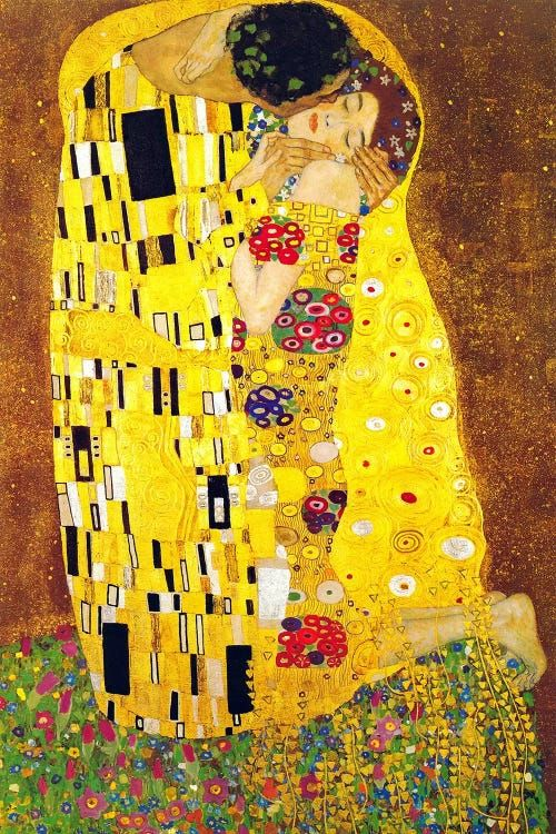 The Kiss Canvas Wall Art by Gustav Klimt | iCanvas