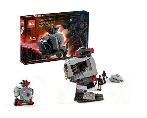 Commando Droid Escape Pod Star Wars Lego Custom Lego Sets Lego