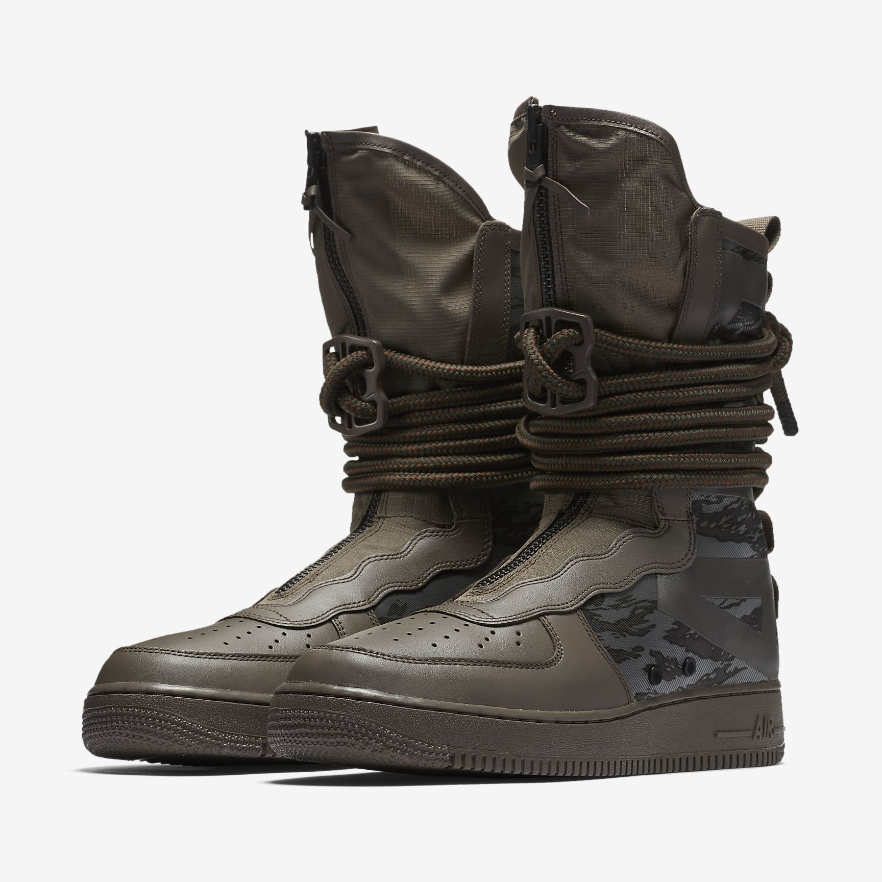 Nike Sf Air Force 1 Hi Boots Camo Boots Sneaker Boots