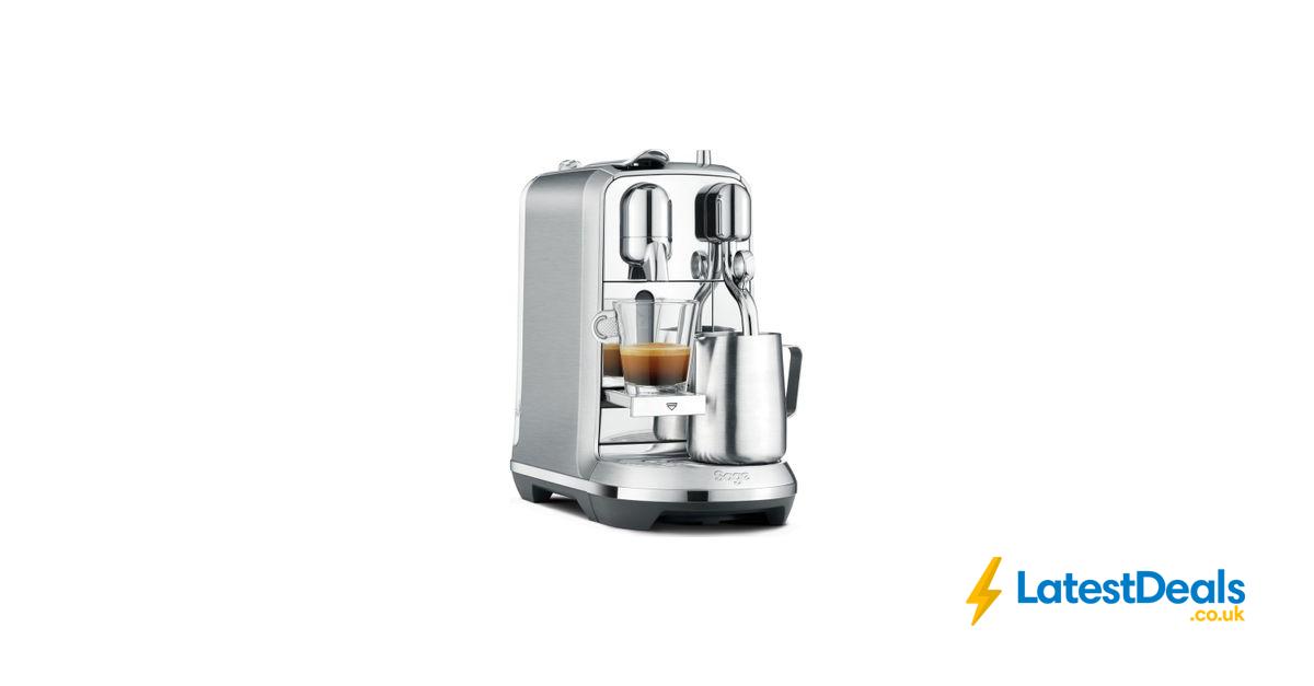 NESPRESSO by Sage Creatista plus Coffee Machine