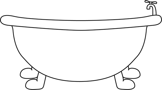 Bathtub Clipart Personal Cleanliness - Black Baby Clipart Free, Cliparts &  Cartoons - Jing.fm