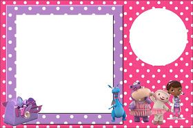 picture about Doc Mcstuffins Printable Invitations identified as Free of charge Document Mcstuffins invitation template! This internet site consists of a