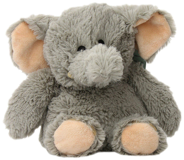 Intelex Cozy Plush Elephant Microwaveable