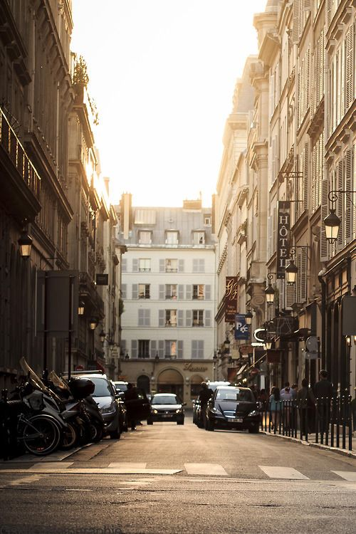 Spend the rest of the summer exploring the street of Paris ;-)