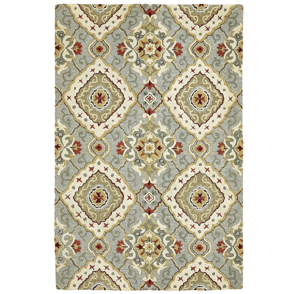 Don T Adjust Your Screen Our Luxuriant Rug Really Is Covered In A Diamond Scroll Pattern That Looks Like A Million Bucks Without Co Blue Rug Rugs Diamond Rugs
