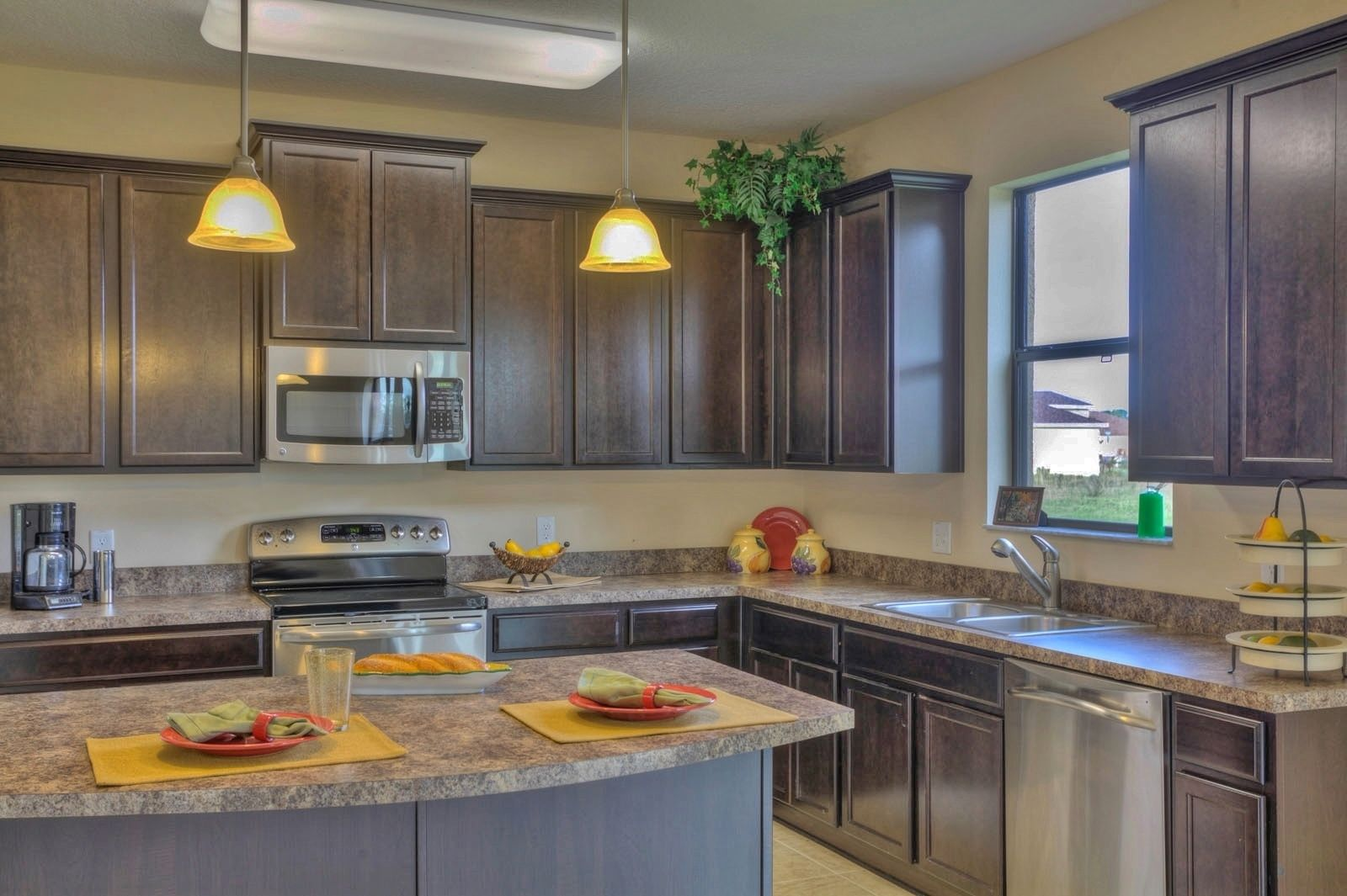 deerfield lakes saratoga plan kitchen with formica tops