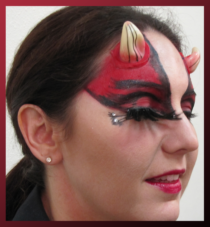 glitter devil halloween makeup looks - Google Search | Devil ...