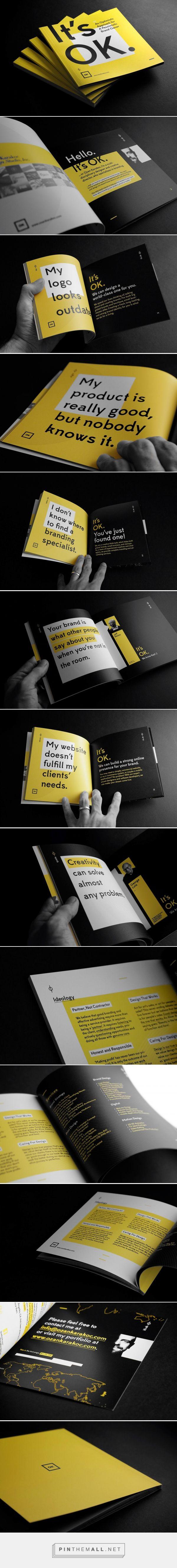 It's OK | Branding Booklet by Ozan Karakoc