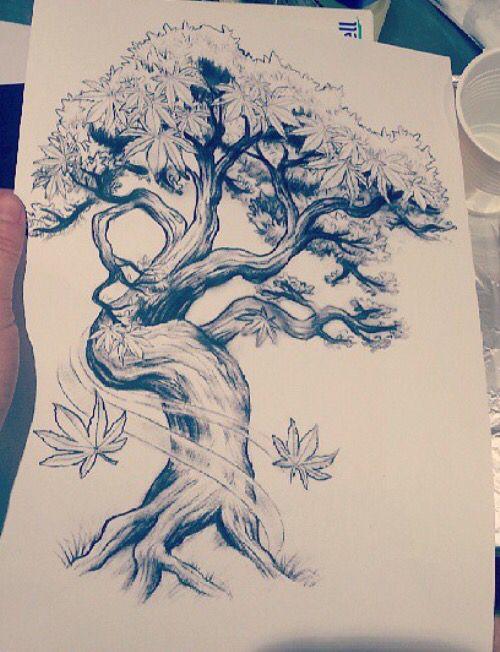 Bonsai Tattoo Meaning: Bonsai Tree Tattoos, Tree Tattoo