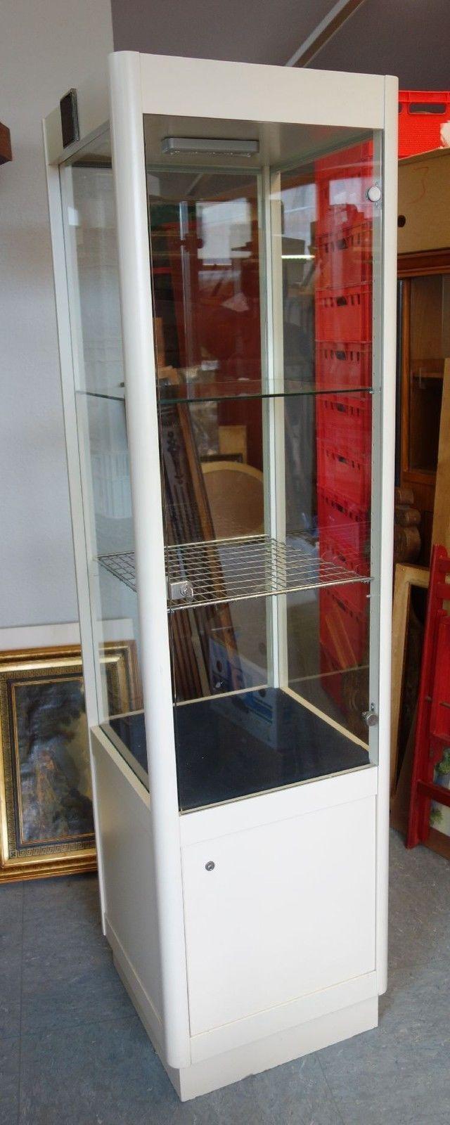sch ne ladenvitrine schmuckvitrine glas vitrine abschlie bar sammlervitrine ebay work. Black Bedroom Furniture Sets. Home Design Ideas