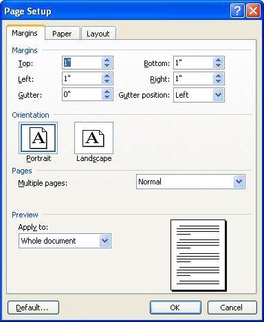 Understanding Mirror Margins Microsoft Word Booklet Printing Paper Layout Research Paper