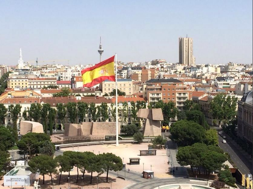Plaza Colón de Madrid