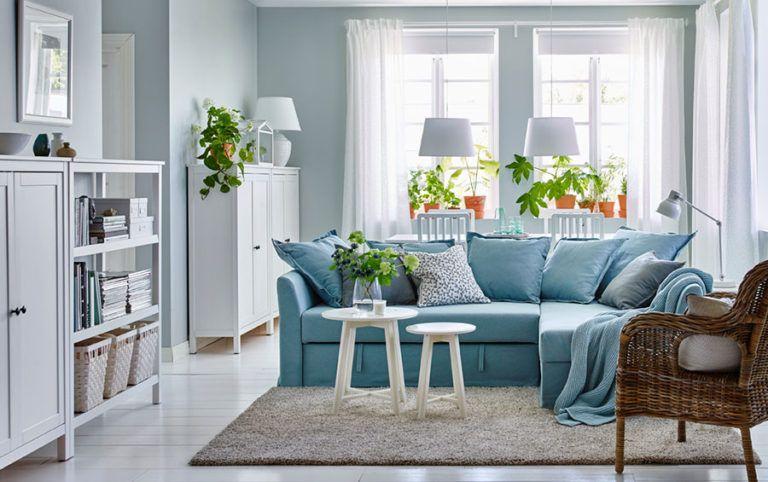 Divano Letto Stile Classico.Arredare Il Soggiorno Con Ikea Tante Idee Per Diversi Stili