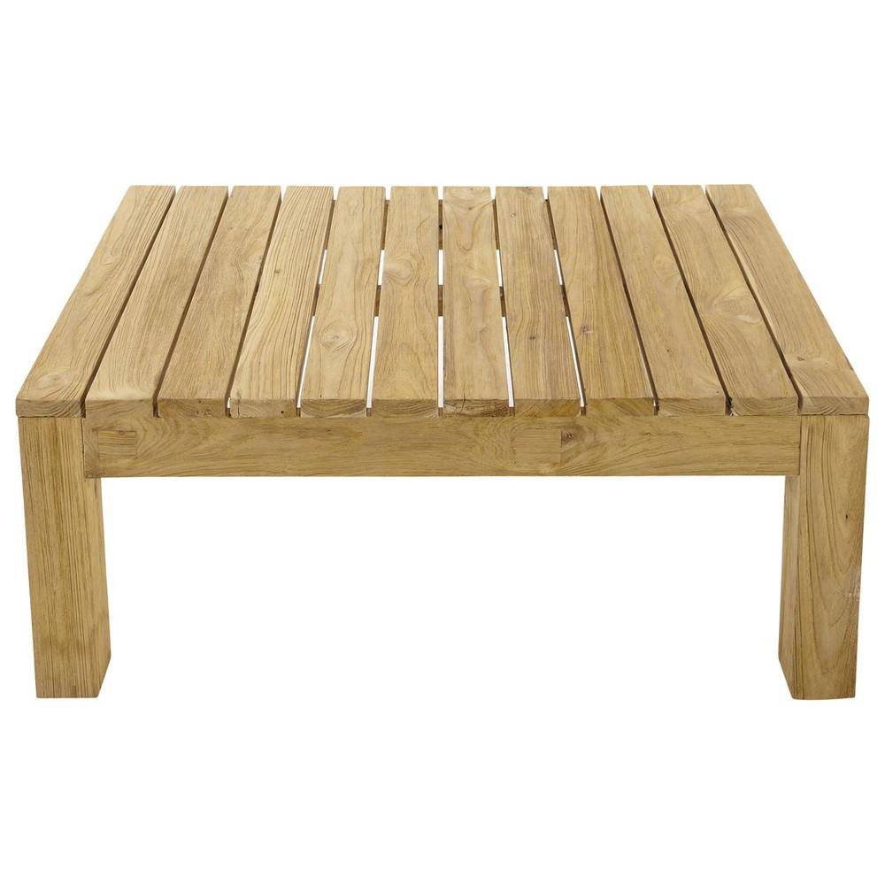 Table basse de jardin en teck L 102 | Products | Garden coffee table ...