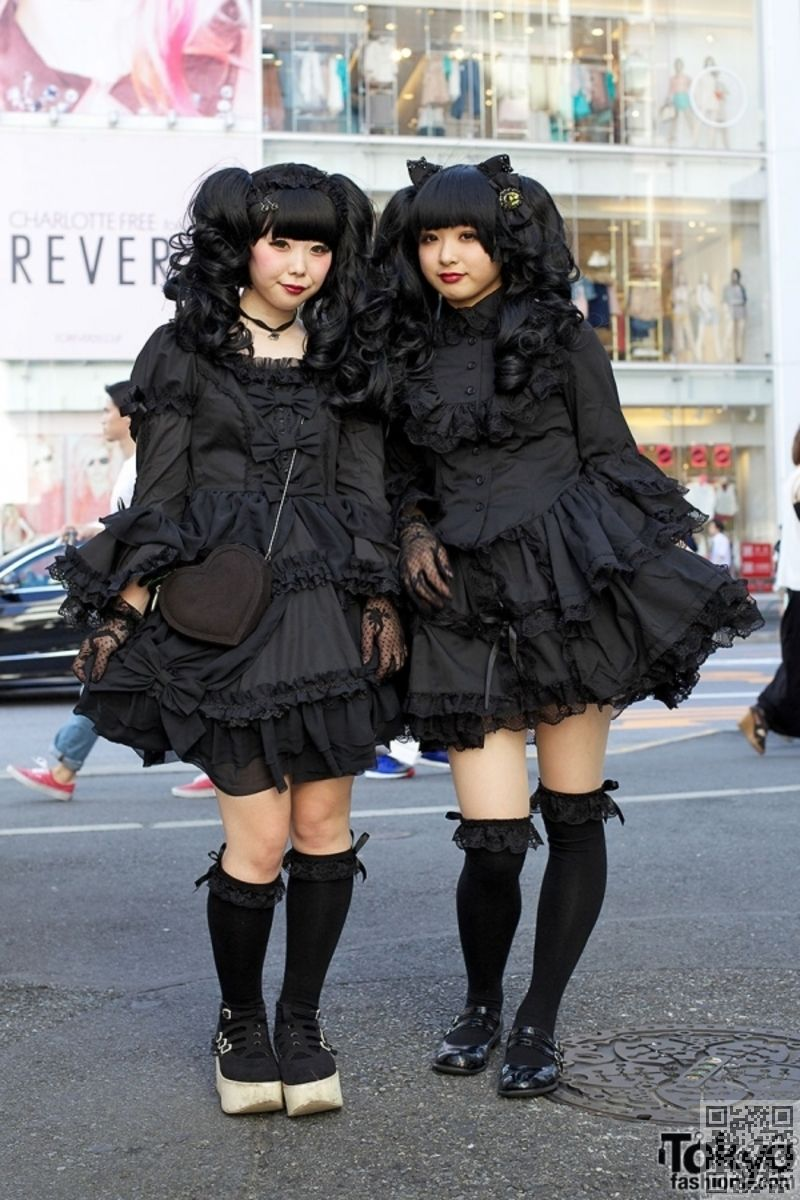 Gothique Lolita , 14 mode japonaise sous,cultures qui vous