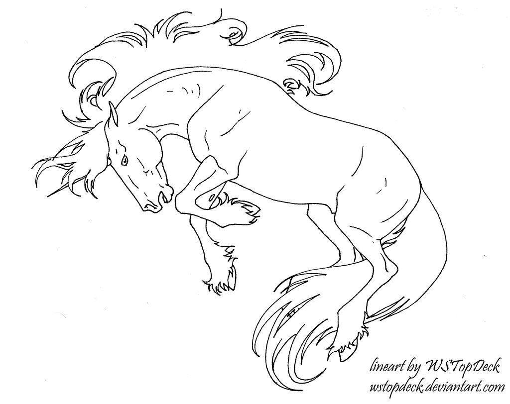 Bucking Unicorn Lines Free Use Horse Coloring Pages Horse Coloring Coloring Pages [ 812 x 1024 Pixel ]