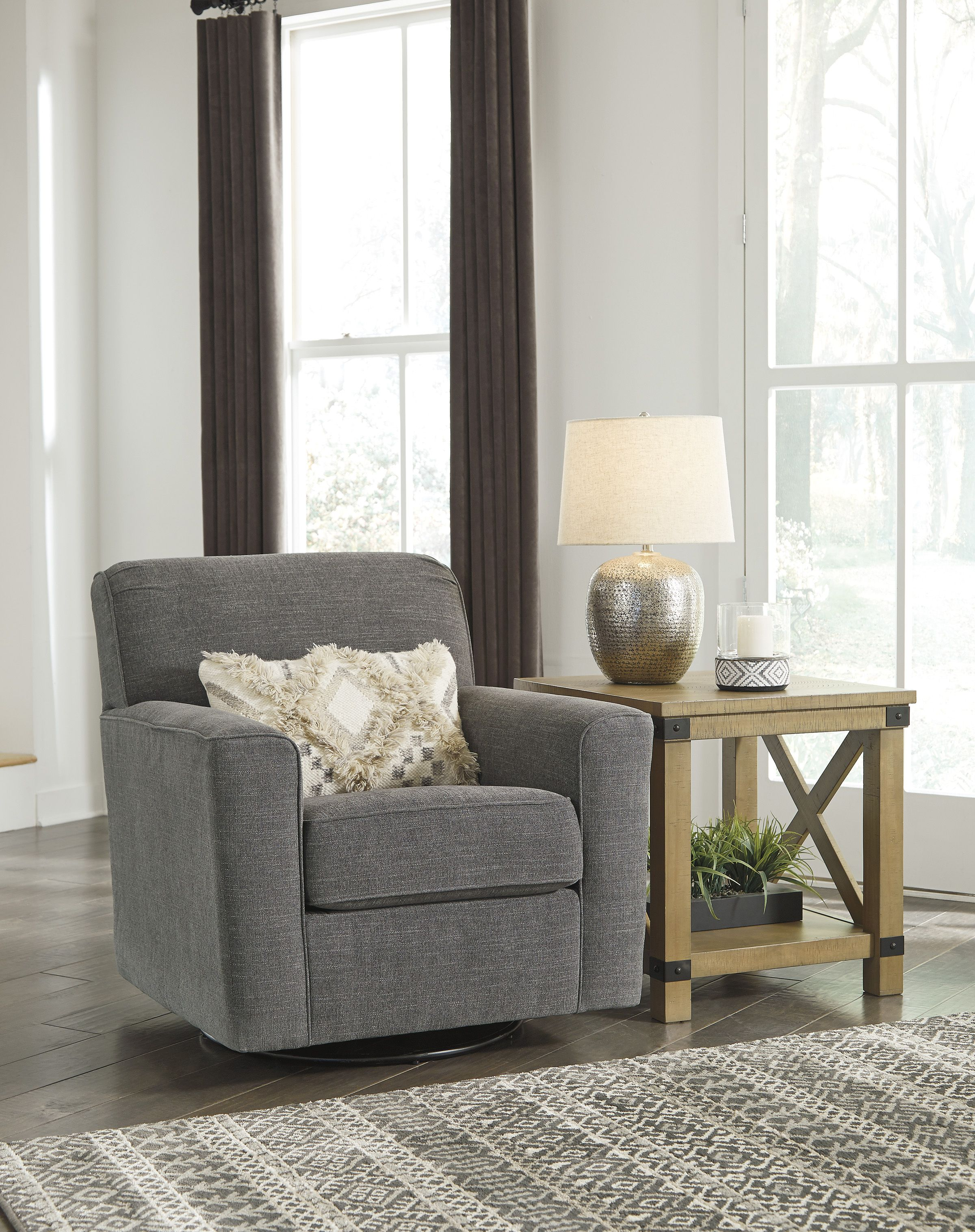 Alcona Exclusive Swivel Accent Chair Furniture Prices Swivel