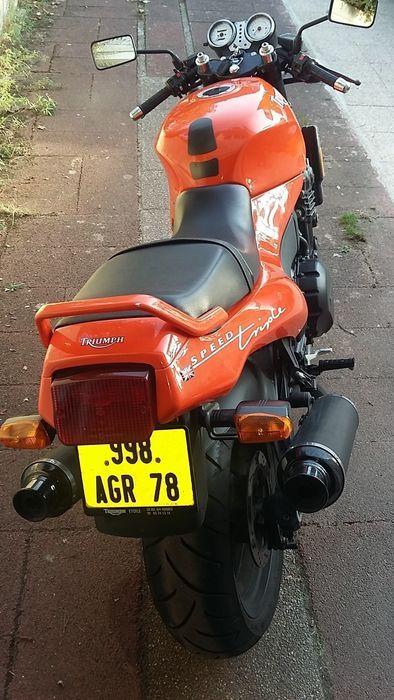 Triumph 900 Speed Triple 1996 Moto Collection Boite De