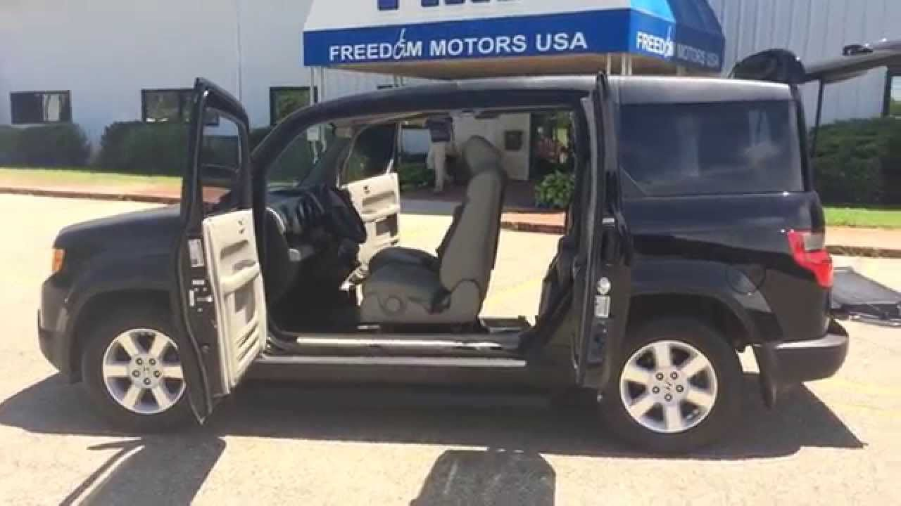 2011 Honda Element Ex Wheelchair Accessible Passenger Entry Very