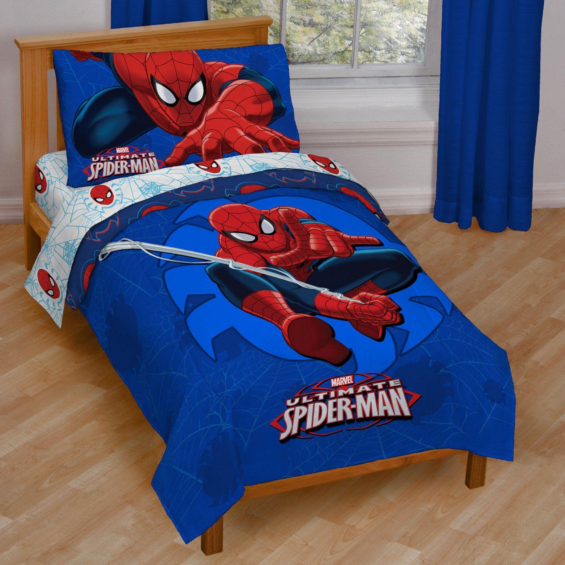 Spiderman Regulator Toddler Bed Set By Marvel Jf28946hyml