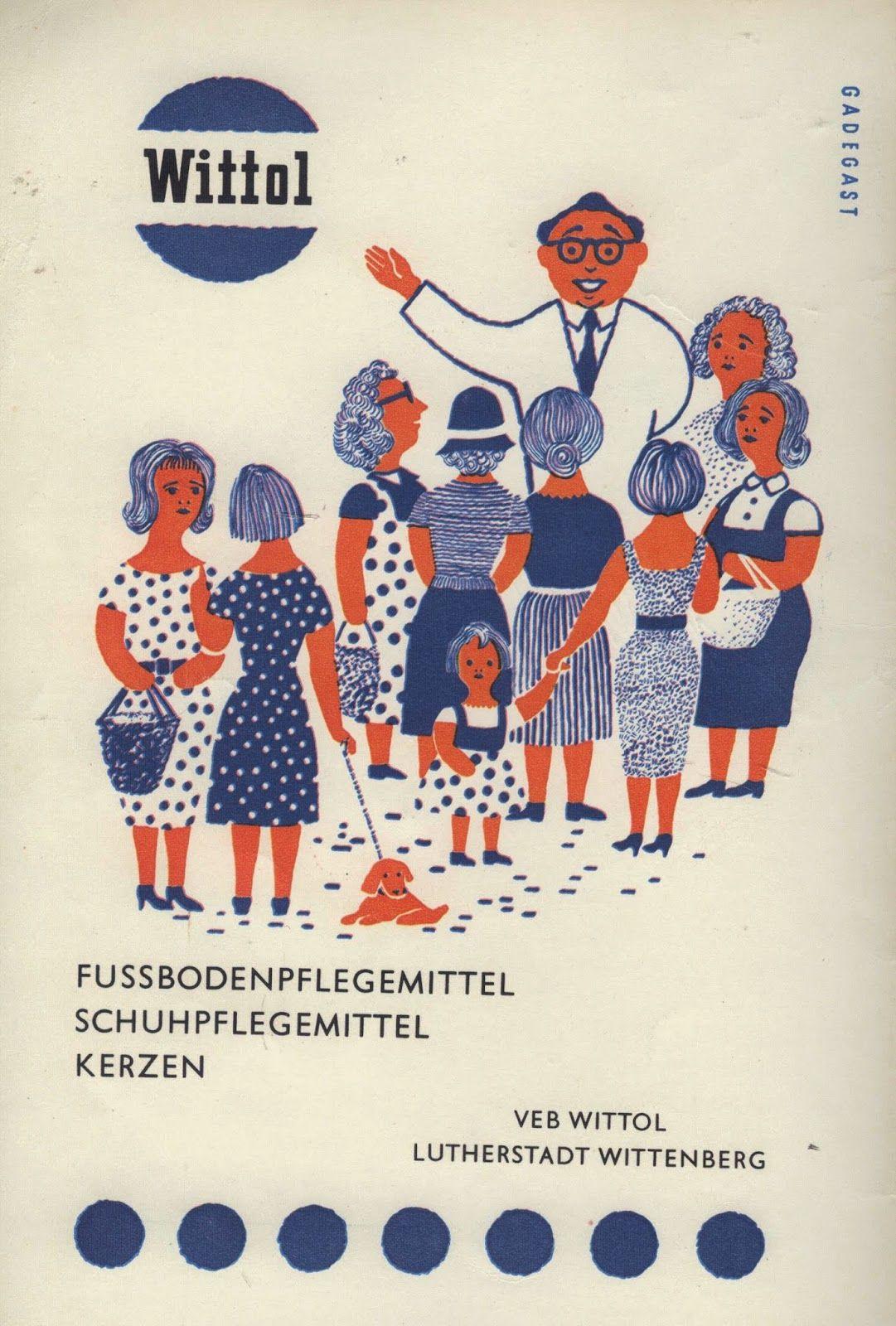 Photo of Gamle og nye fra Bernd Nowack, Dessau: GDR-reklame fra 60- og 70-tallet …