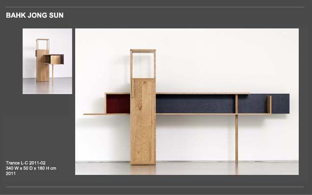 Nice multi-purpose furniture by Bahk JongSun #KoreanPride