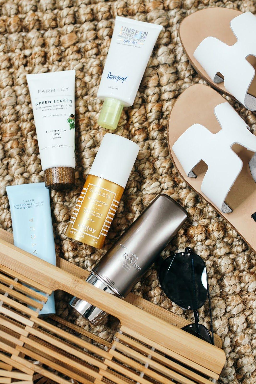 Five Sunscreens I Like Wearing Under Makeup Sunscreen