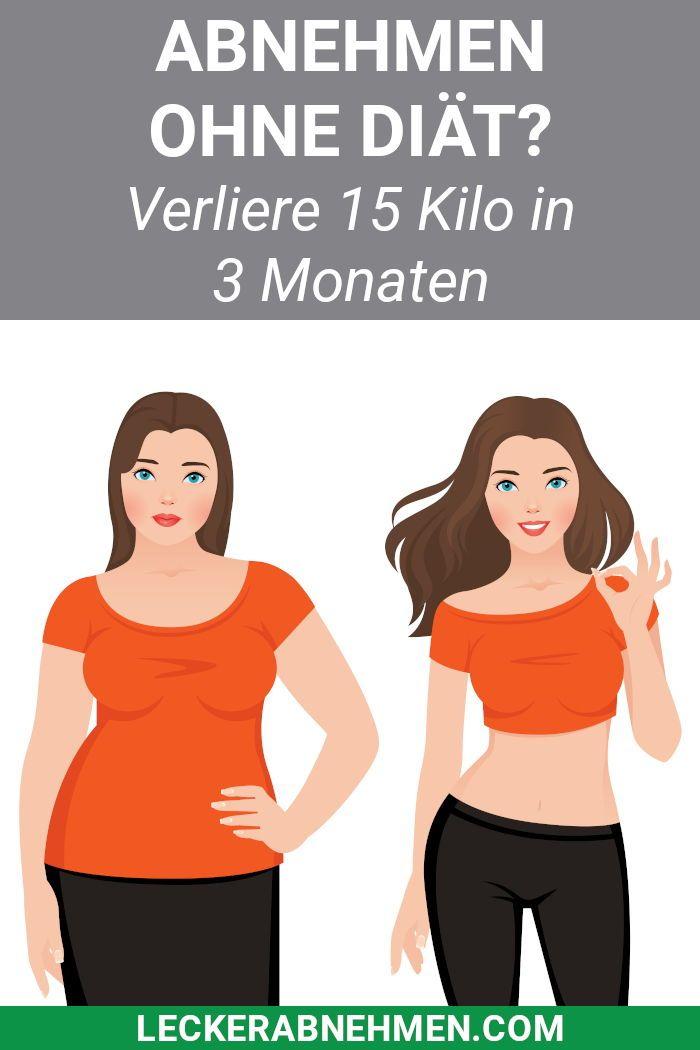Gewichtsverlust ohne schnelle Diäten