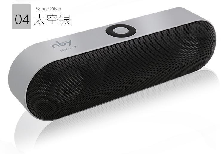 New Nby 18 Mini Bluetooth Speaker Portable Wireless Speaker Sound System 3d Wireless Speakers Portable Wireless Speakers Bluetooth Bluetooth Speakers Portable