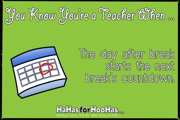 How Many Days Until Spring Break Teacher Memes Funny Teacher Jokes Funny Teacher Jokes