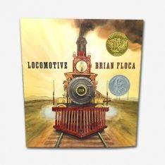 Locomotive, Brian Floca. Available at TeichDesign.com $18