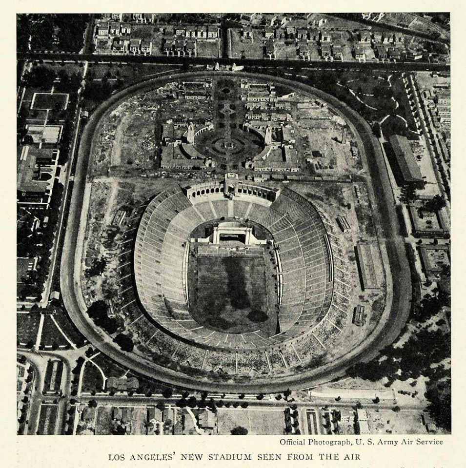 Los Angeles Memorial Coliseum Opened May 1 1923 Is A Large Outdoor Sports Stadium In The University Park Neighborhood Of Los Angeles At Exposition Park Twice