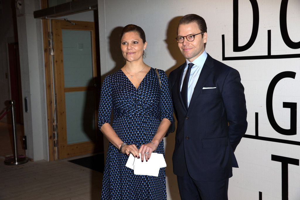 Crown Princess Victoria and Prince Daniel visited Varmland on November 18, 2015.