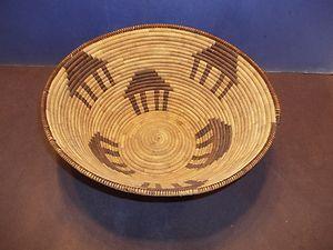 Antique Vintage California Great Basin Basket Native American Indian Rain RARE | eBay