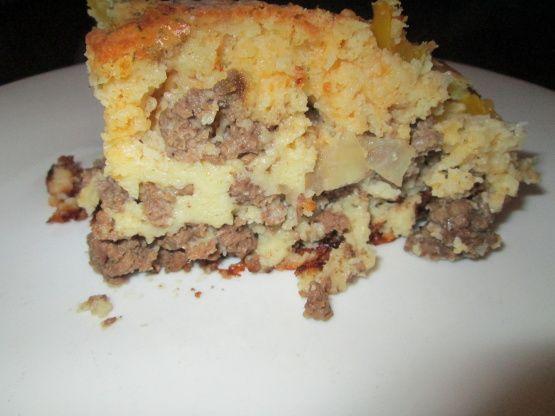 Hot Dish Cheeseburger Pie Recipe - Food.com