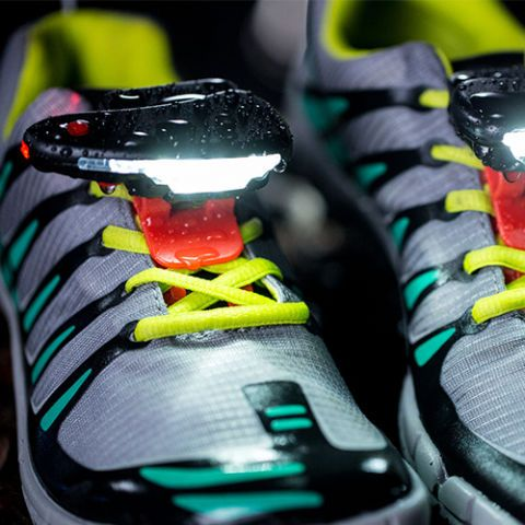 If you run at night, you know how hard it can be to see the surface in front of you. These lights clip directly onto your shoes so that each step you take is completely illuminated. It makes running safer for the wearer and for everyone around them as it adds visibility to both the ground and to the runner. It won't bobble around either, so you'll feel secure in each step.