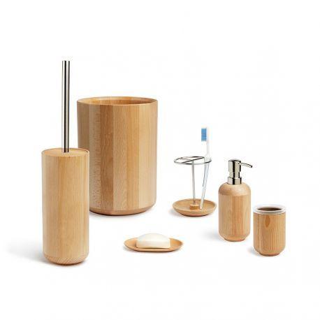 Poubelle en bois pour salle de bain - Woodland par @Umbra en ...