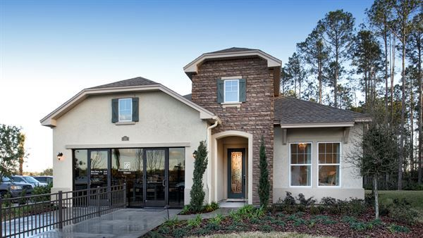 CalAtlantic Homes Laurent - European Cottage of the Artisan Lakes - The Prestige Collection community in Ponte Vedra, FL.