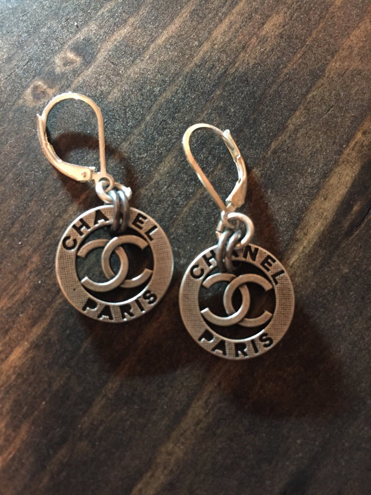 Chanel Button Earrings 7f9077445d9ab