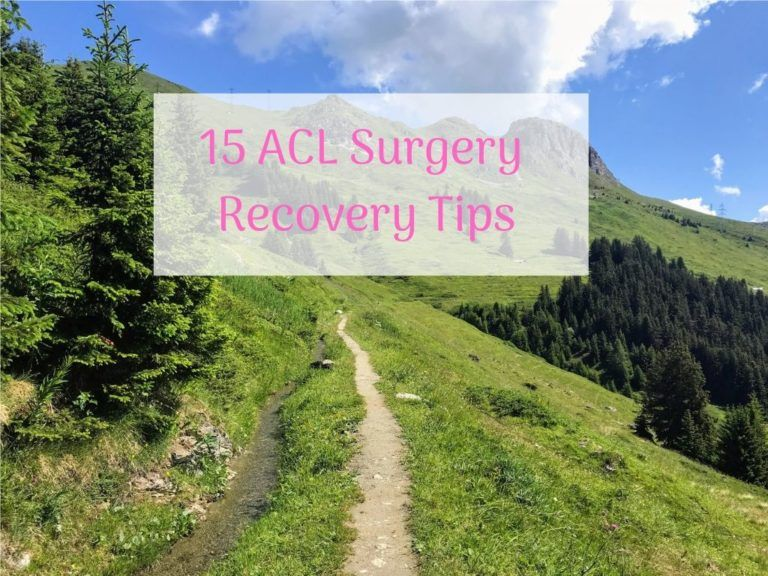 Acl surgery recovery 15 things i would have done