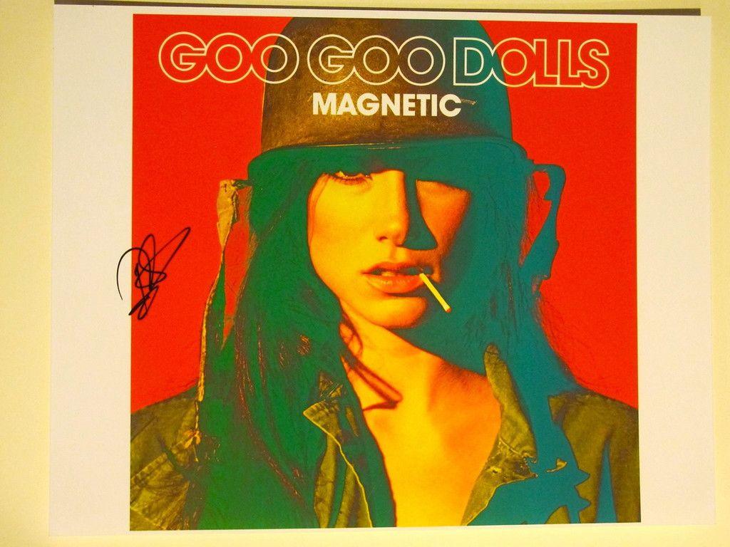 Robby Takac Autographed Signed 11x14 Photo Coa Goo Goo Dolls Magnetic Authentic Ink Graphs Goo Goo Dolls Goo Dolls