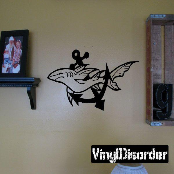 Shark Wall Decal - Vinyl Decal - Car Decal - CF183