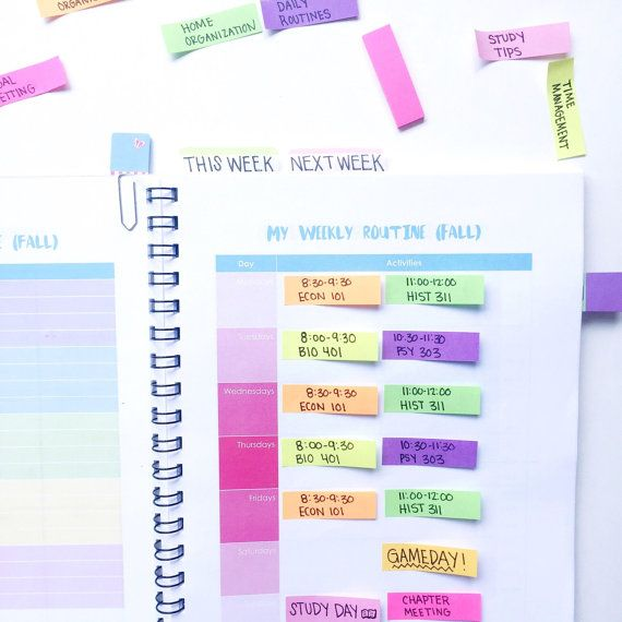 7 Ways To Feel More Organized In Your Daily Routine